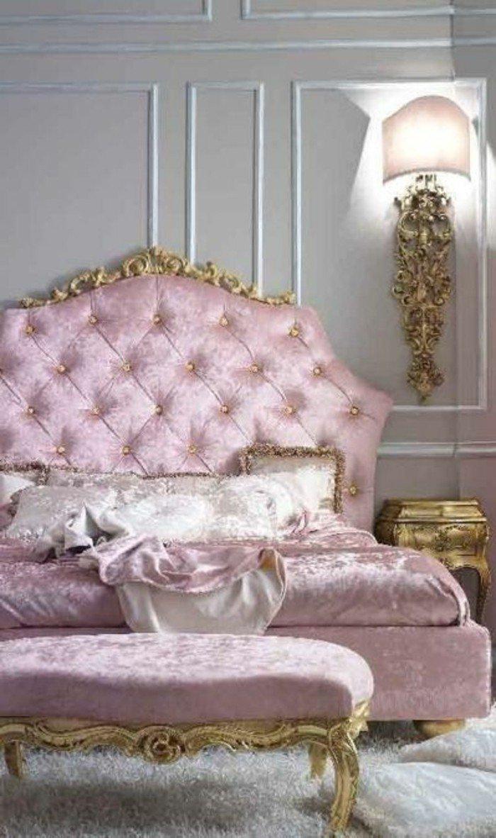 Awesome Chambre Romantique Rose Pale Idees - Idées décoration ...