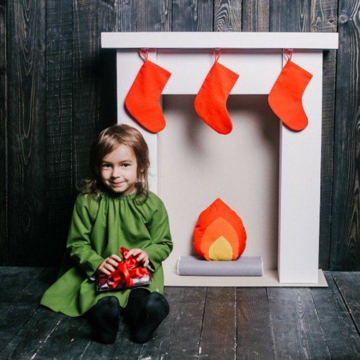 40 idées de fausse cheminée pour Noël - Des idées
