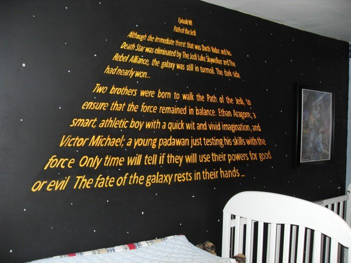 45 id es de d coration de chambre star wars page 3 sur 5. Black Bedroom Furniture Sets. Home Design Ideas