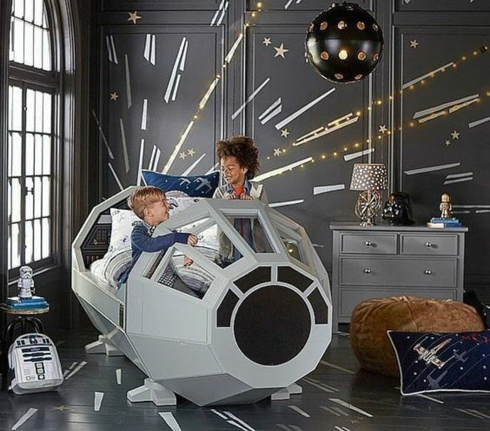45 id es de d coration de chambre star wars page 4 sur 5 des id es. Black Bedroom Furniture Sets. Home Design Ideas
