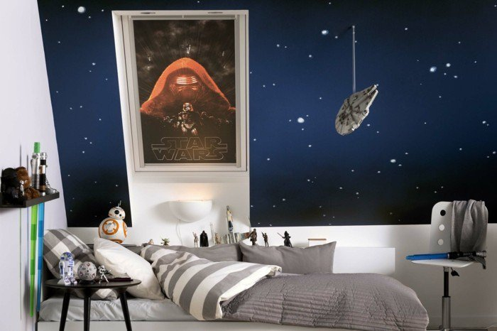 45 id es de d coration de chambre star wars page 5 sur 5. Black Bedroom Furniture Sets. Home Design Ideas