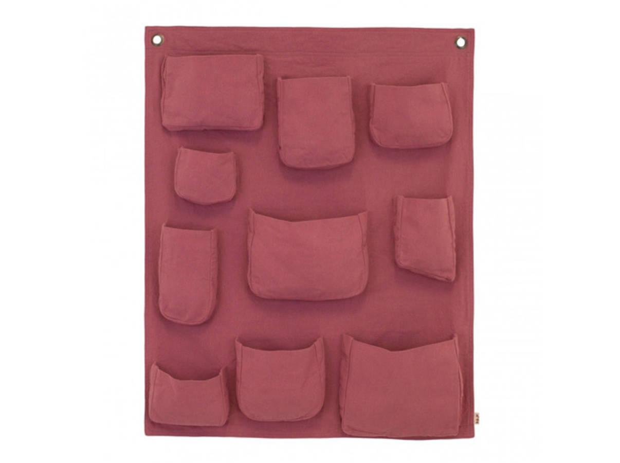 30 rangements muraux pour un gain de place assur page 2 for Poche de rangement mural