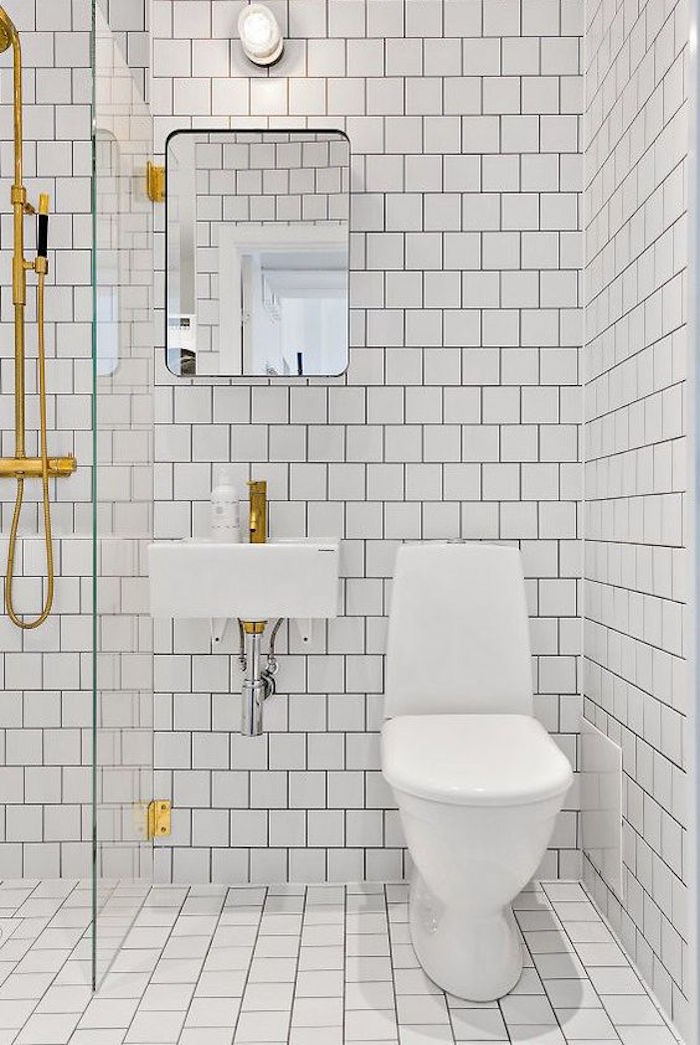 43 idées d\'aménagement pour une petite salle de bain - Des idées
