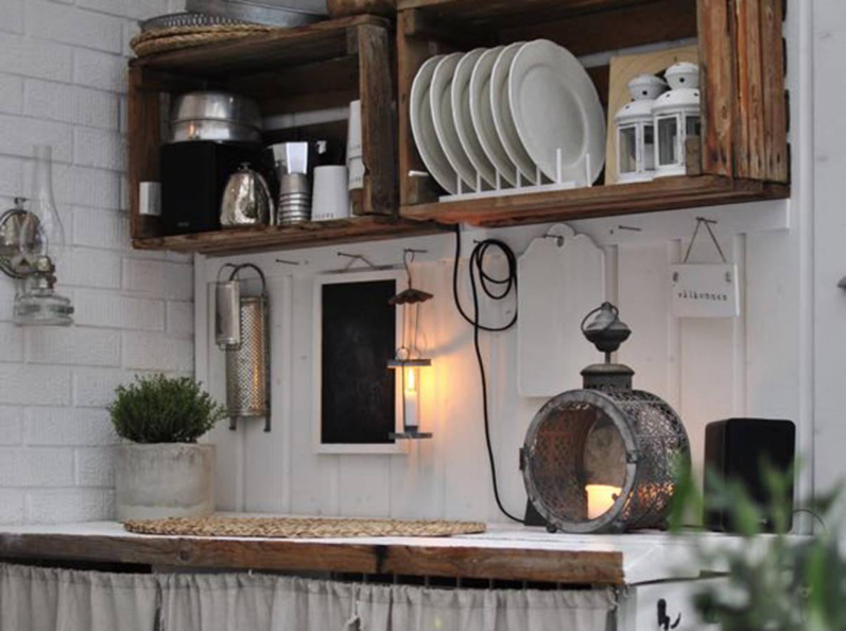 20 id es d co et r cup 39 avec des cagettes en bois. Black Bedroom Furniture Sets. Home Design Ideas