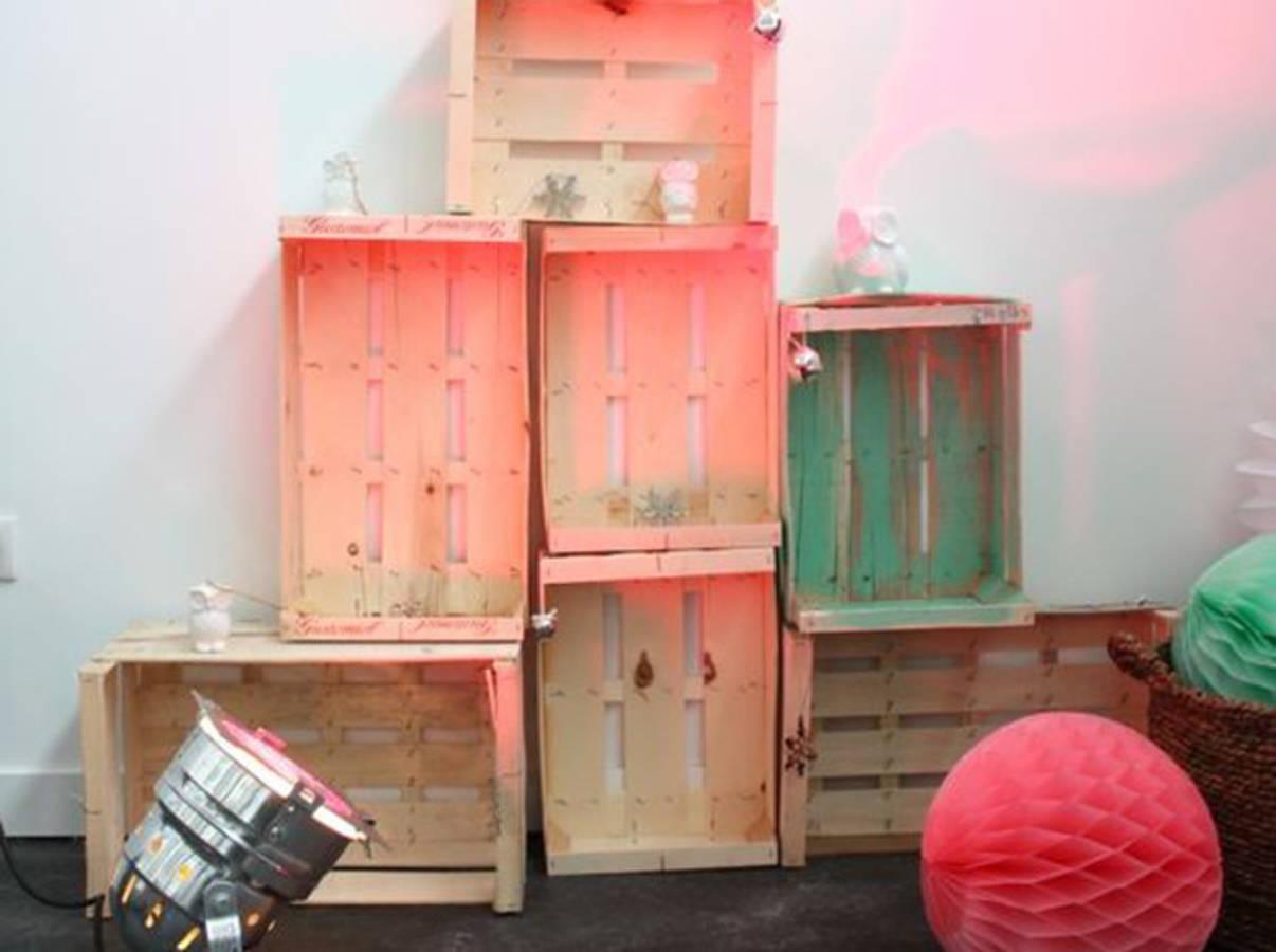 20 id es d co et r cup 39 avec des cagettes en bois page 2 sur 3 des id es. Black Bedroom Furniture Sets. Home Design Ideas