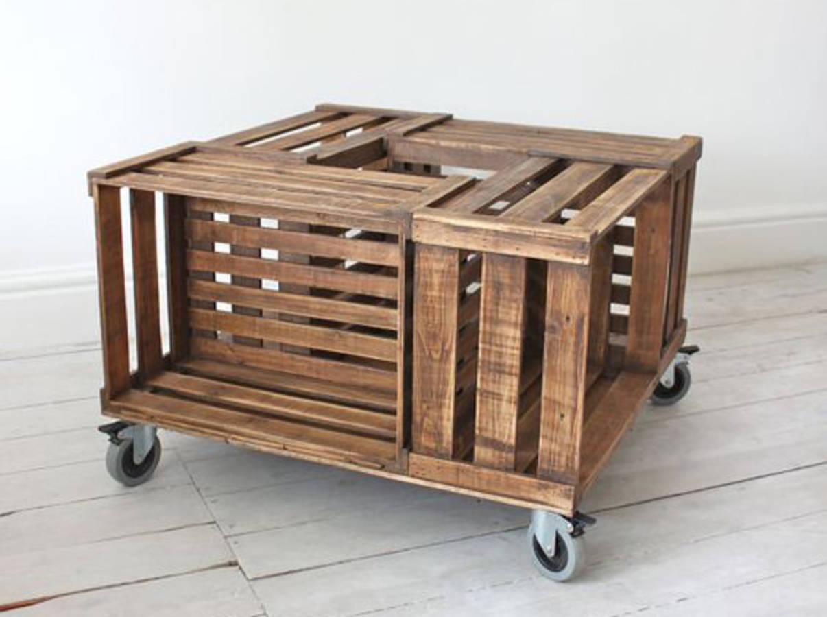 20 id es d co et r cup 39 avec des cagettes en bois des id es. Black Bedroom Furniture Sets. Home Design Ideas