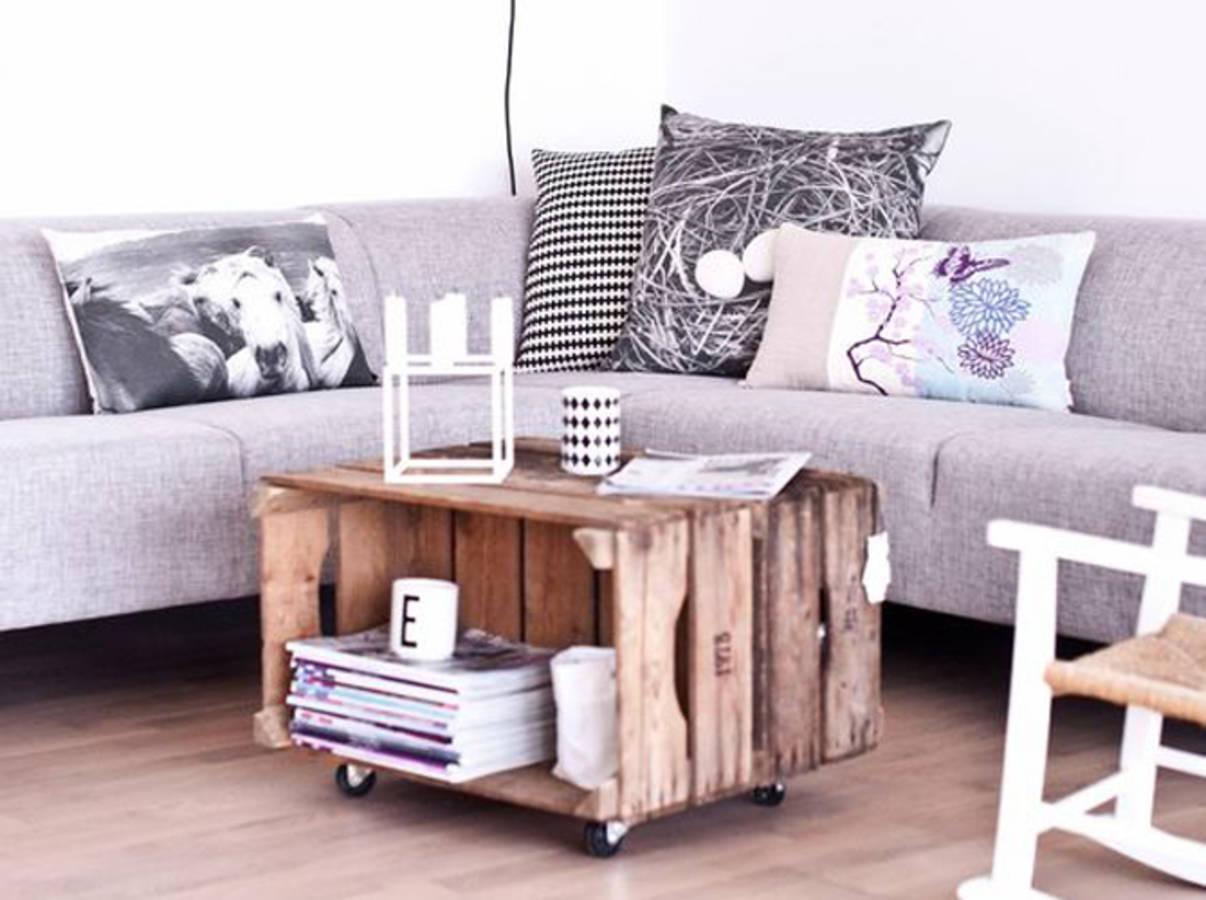 deco cagette bois fashion designs. Black Bedroom Furniture Sets. Home Design Ideas