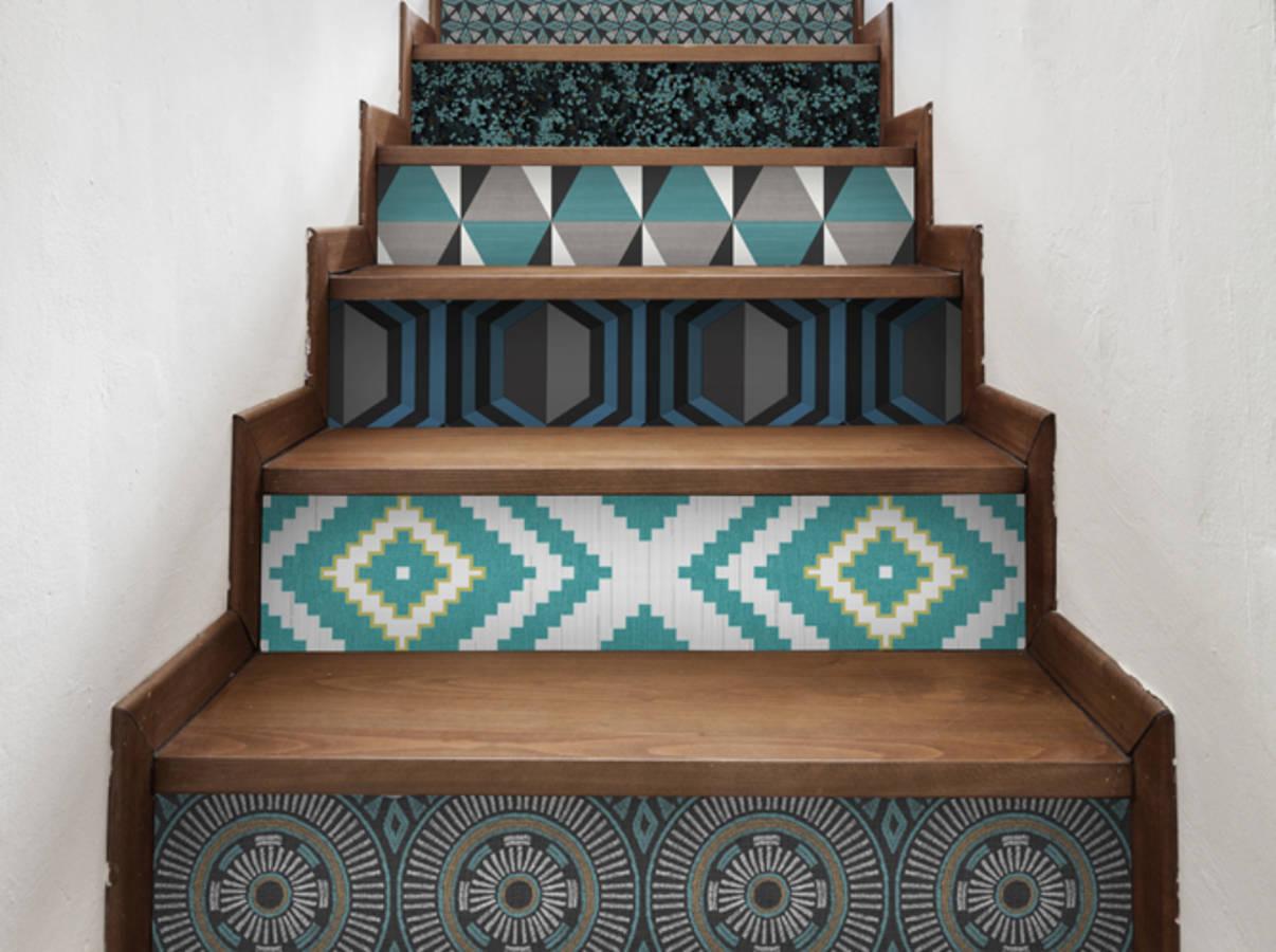 12 merveilleuses id es pour r utiliser vos chutes de papier peint des id es. Black Bedroom Furniture Sets. Home Design Ideas