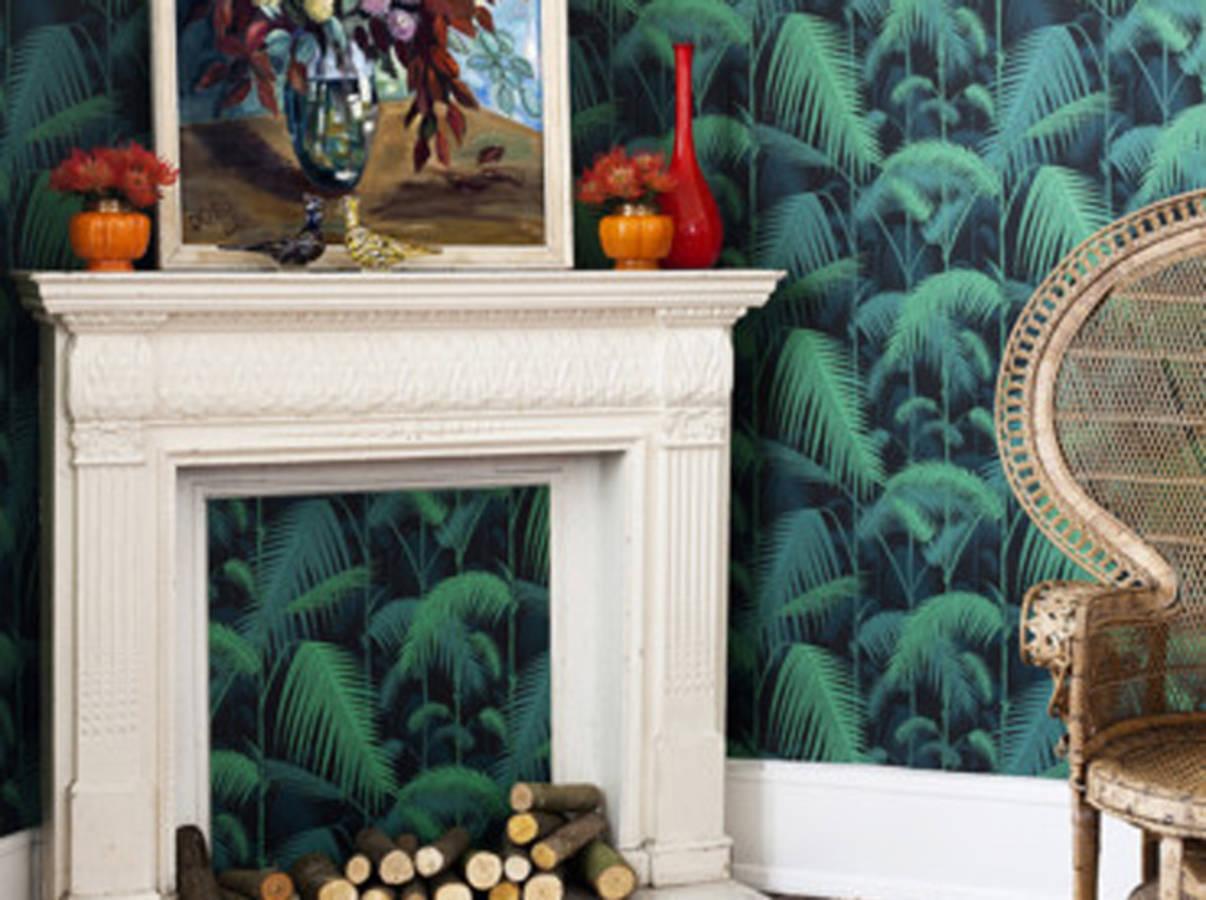 12 merveilleuses id es pour r utiliser vos chutes de papier peint page 2 sur 2. Black Bedroom Furniture Sets. Home Design Ideas