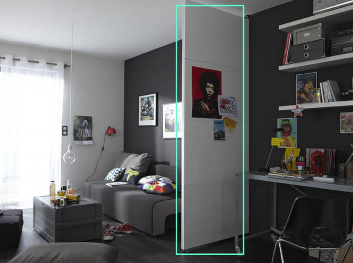 20 id es d 39 am nagement pour un petit studio page 3 sur 4. Black Bedroom Furniture Sets. Home Design Ideas