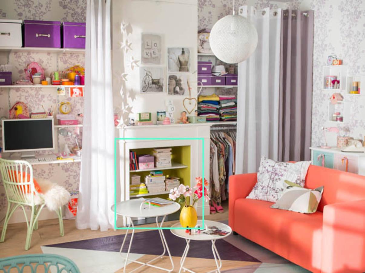 20 id es d 39 am nagement pour un petit studio page 2 sur 4 des id es. Black Bedroom Furniture Sets. Home Design Ideas
