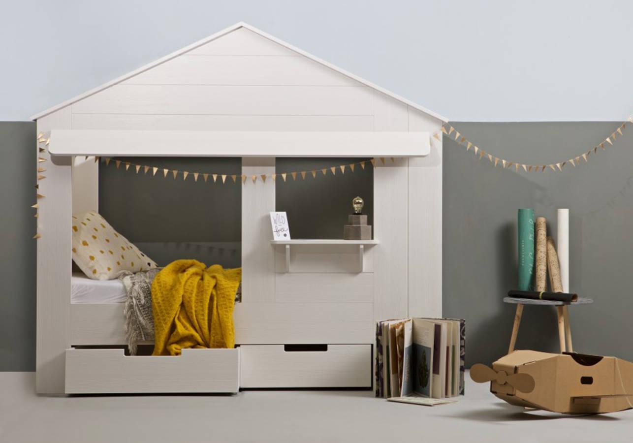 11 lits cabane pour la chambre de votre enfant des id es - Lit cabane fait maison ...