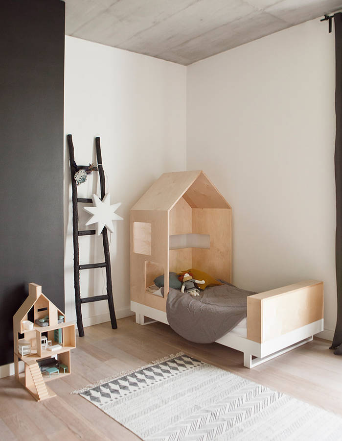 11 lits cabane pour la chambre de votre enfant des id es - Lit au sol cabane ...