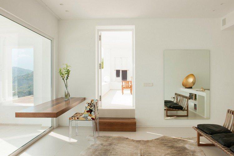Idées de bureaux suspendus le meuble très pratique pour les
