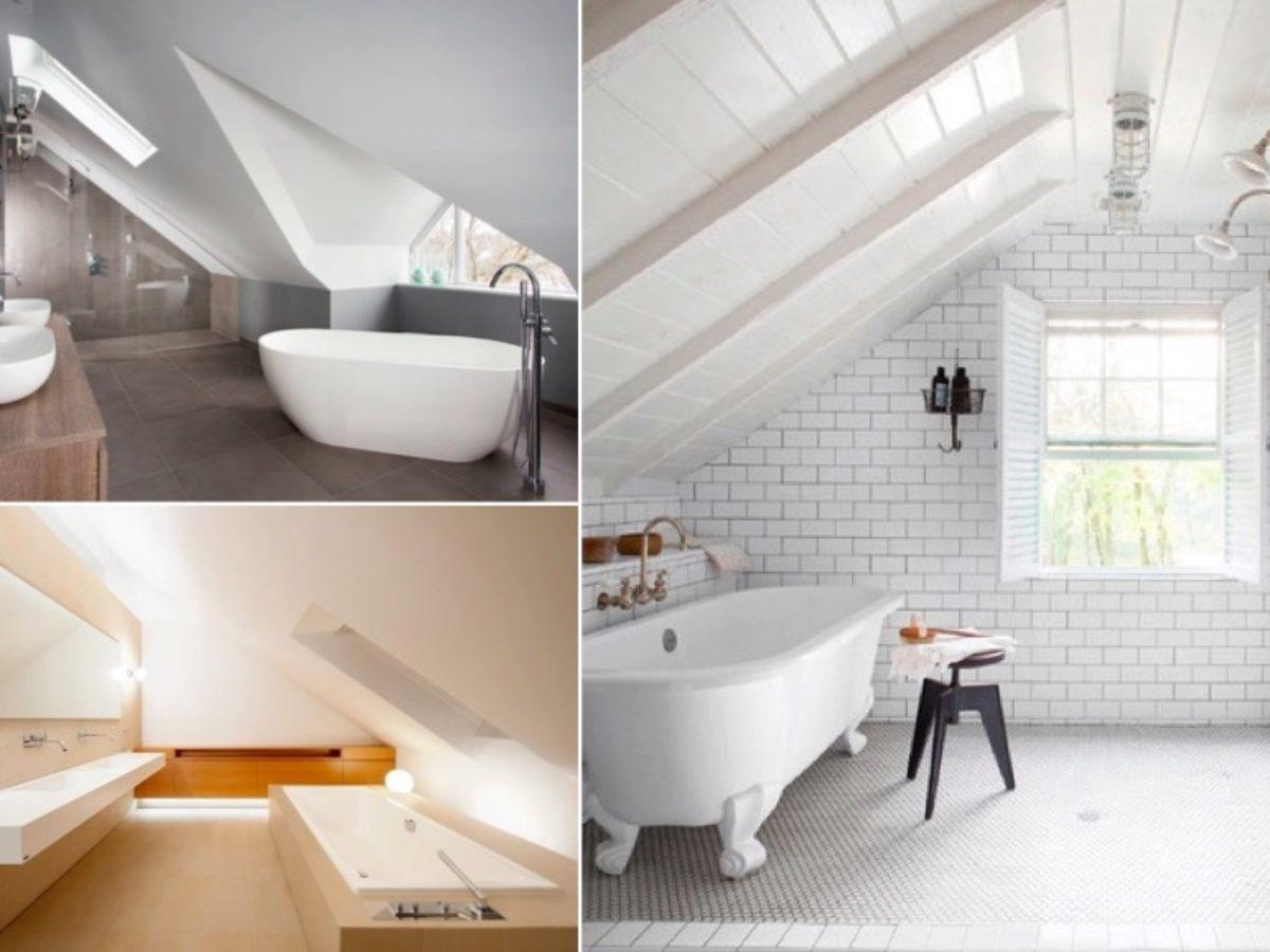 Installer Salle De Bains Combles 10 exemples réussis de salle de bain sous les combles