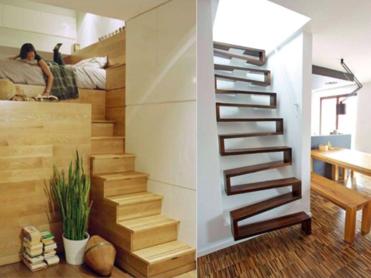 Amenagement Interieur Petite Surface 11 escaliers gain de place parfaits pour de petits espaces