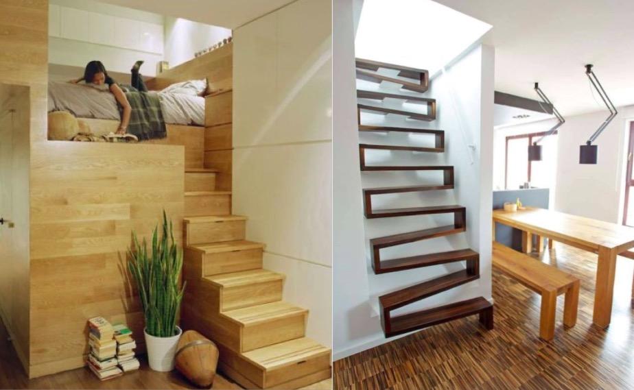 escalier interieur petite surface
