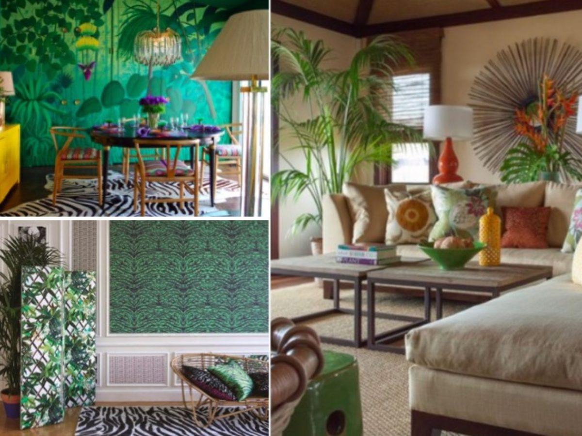 20 idées de décoration tropicale