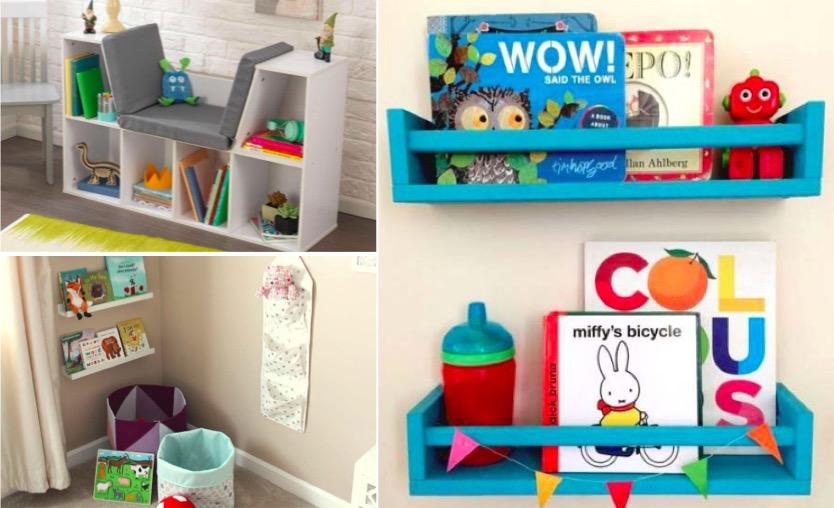 10 mani res de ranger les livres de votre enfant des id es for Livre ranger sa maison