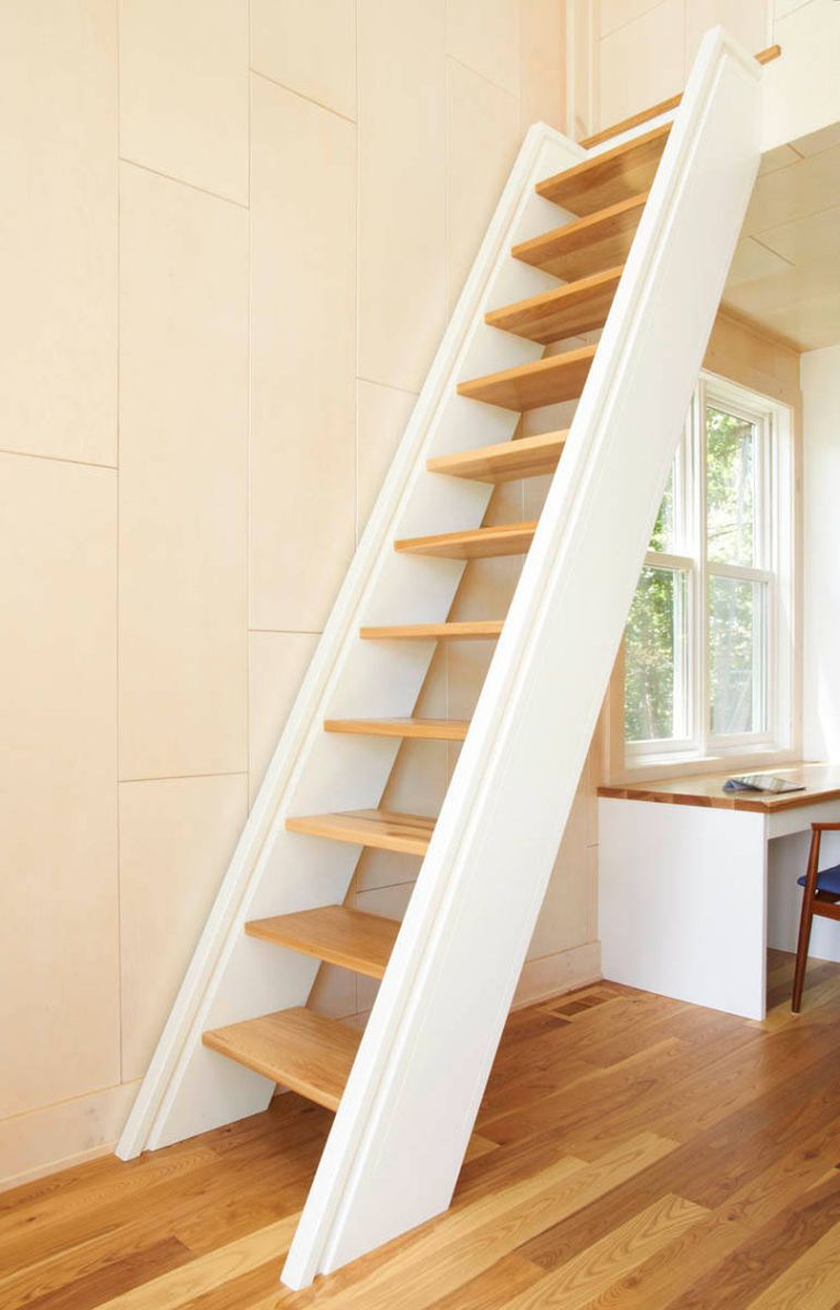 Décoration Marche Escalier Intérieur 11 escaliers gain de place parfaits pour de petits espaces