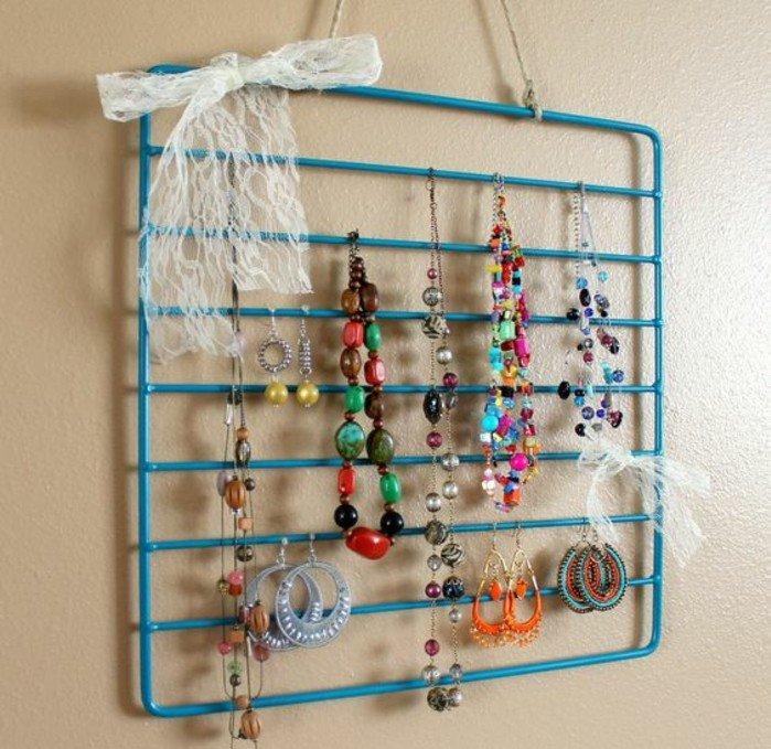 46 idées originales pour fabriquer un porte,bijoux