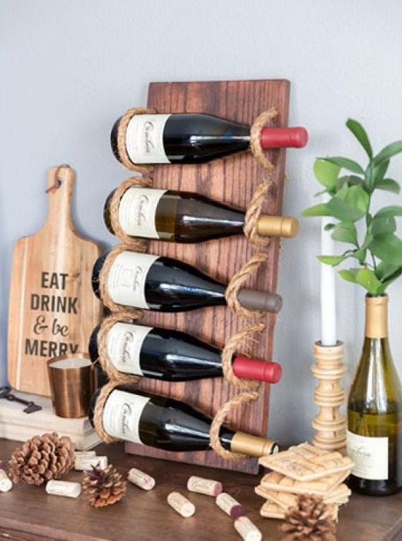 10 Manieres Originales De Ranger Vos Bouteilles De Vin Dans Un Petit Appartement