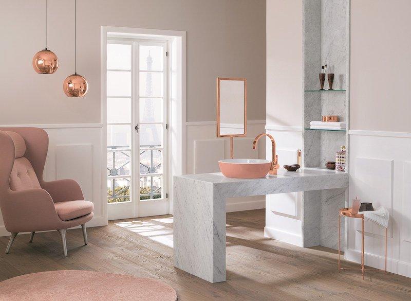 12 vasques modernes pour parfaire la d coration de votre salle de bain des id es. Black Bedroom Furniture Sets. Home Design Ideas