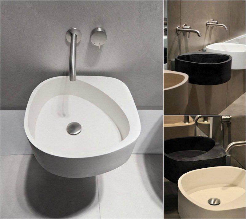 12 vasques modernes pour parfaire la d coration de votre for Moab salle de bain