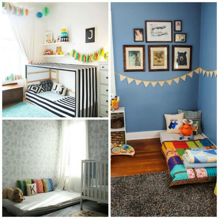 24 mod les de lit au ras du sol pour la chambre coucher page 2 sur 3 des id es. Black Bedroom Furniture Sets. Home Design Ideas