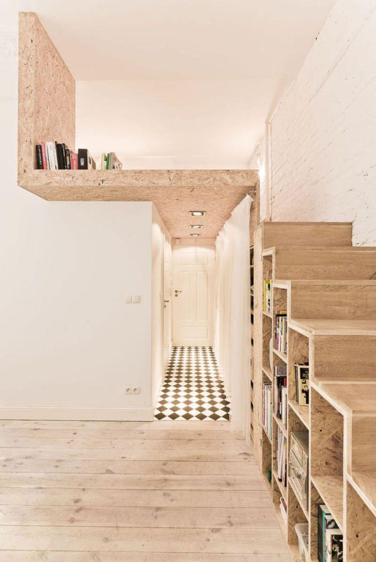 11 escaliers gain de place parfaits pour de petits espaces page 2 sur 2. Black Bedroom Furniture Sets. Home Design Ideas