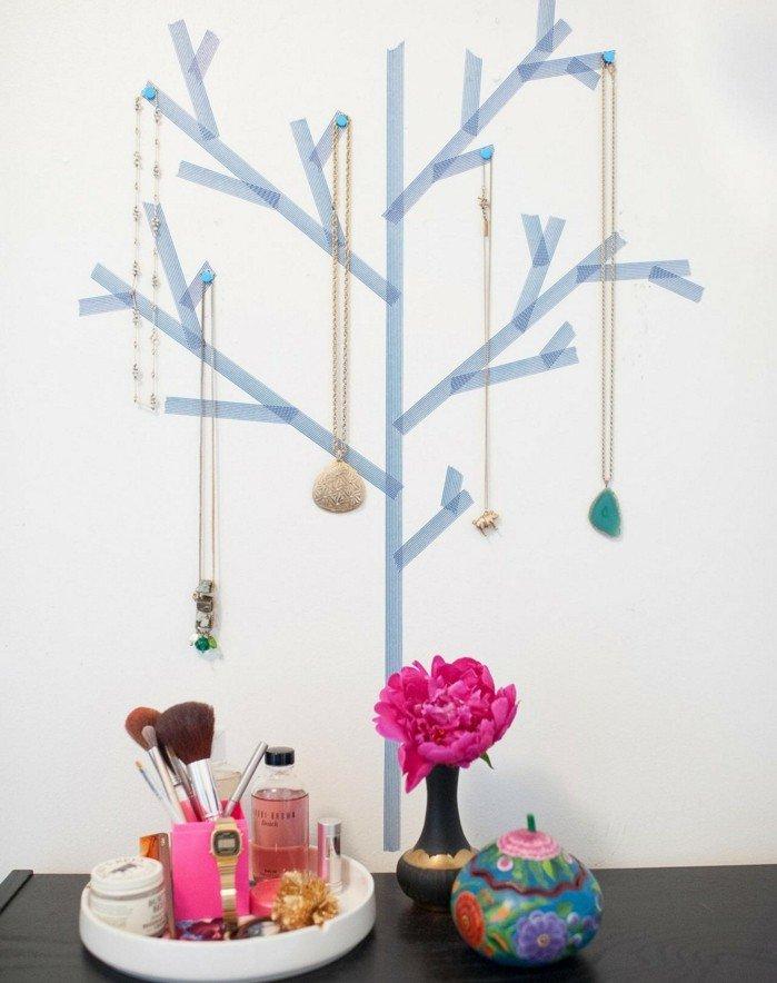 46 id es originales pour fabriquer un porte bijoux des id es - Fabriquer un arbre a bijoux ...