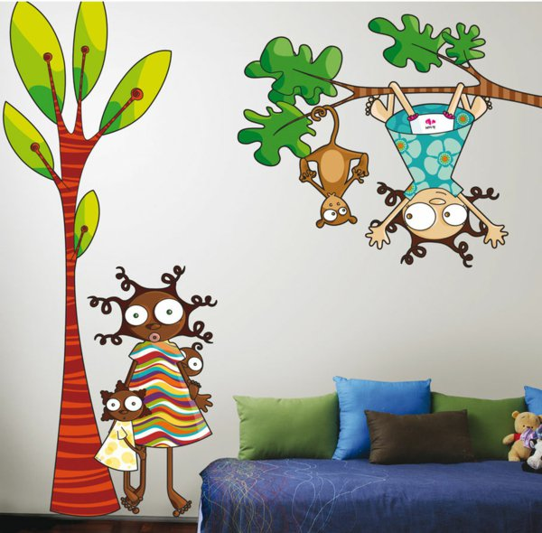 22 Decorations Murales Avec Des Stickers Pour La Chambre De