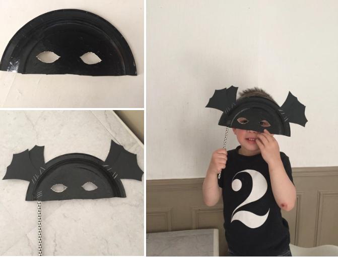 10 id es de masques faire avec des assiettes en carton des id es. Black Bedroom Furniture Sets. Home Design Ideas
