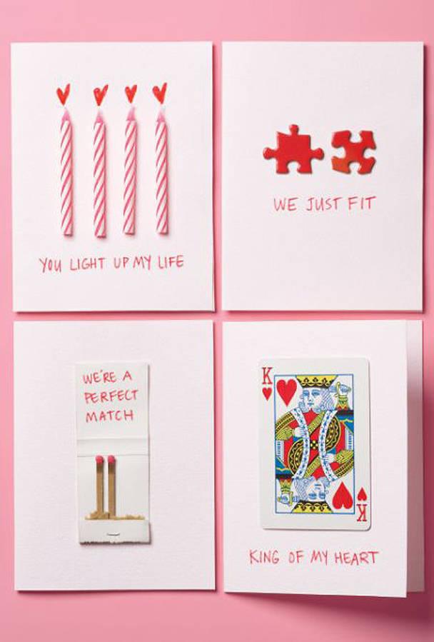 20 cartes de saint valentin offrir votre partenaire - Idee saint valentin deco murale originale avec coeur geant ...