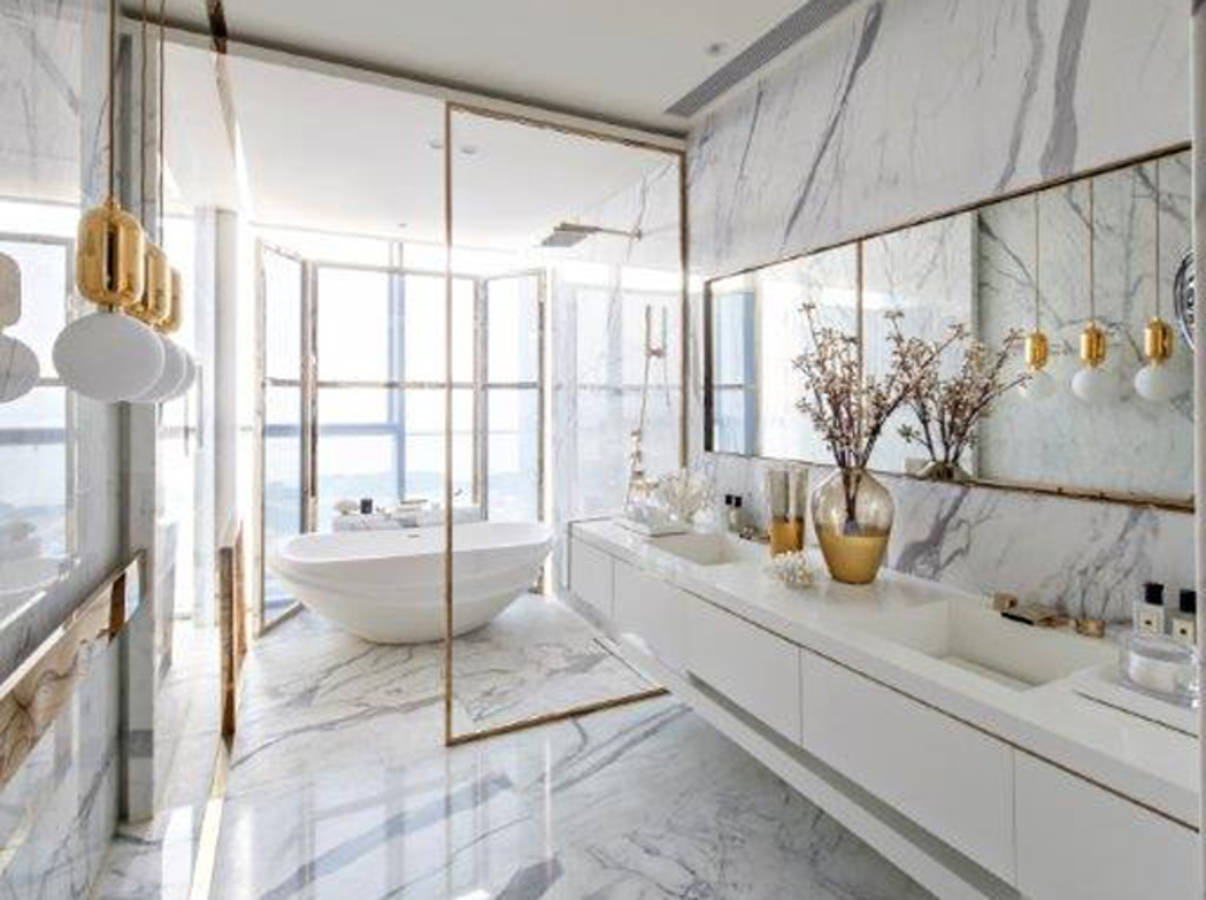 50 salles de bains pleines de charme et de romantisme for Salle de bains design luxe