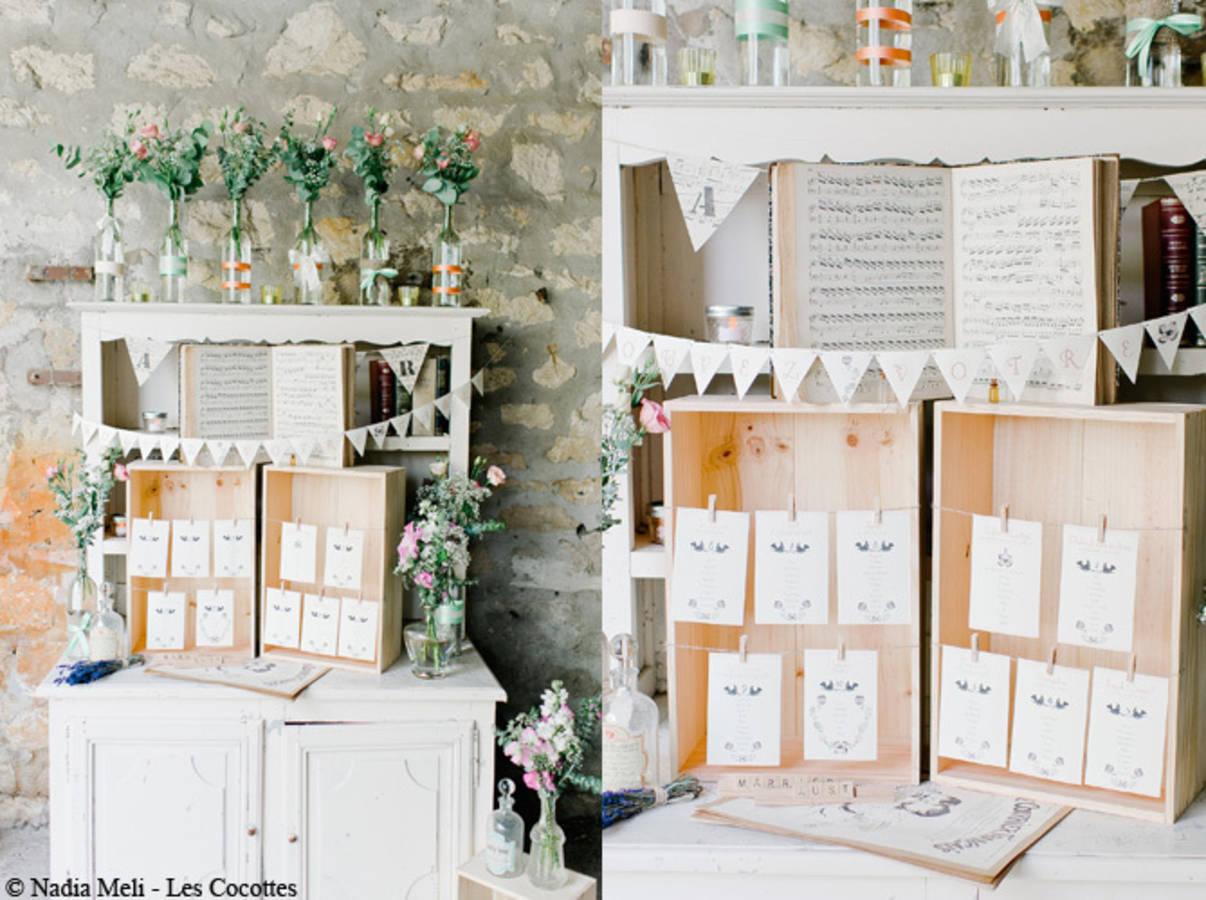 25 plans de table originaux pour votre mariage ou pacs des id es. Black Bedroom Furniture Sets. Home Design Ideas