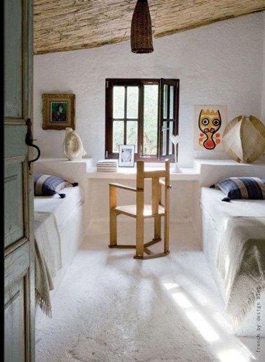 12 am nagements de chambre sous les combles des id es. Black Bedroom Furniture Sets. Home Design Ideas