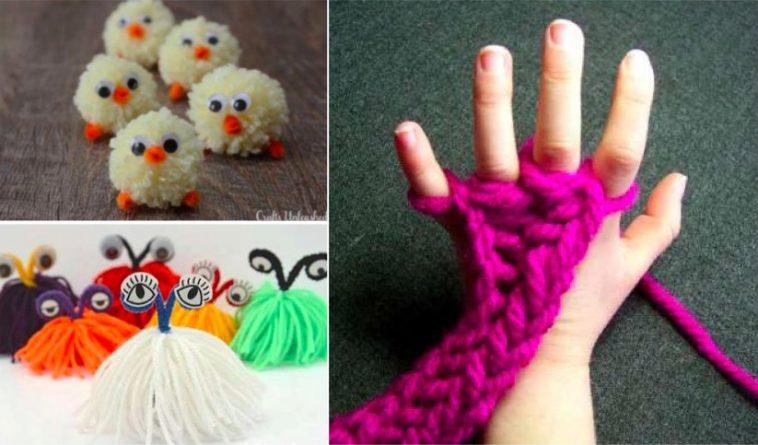 bricolage avec de la laine