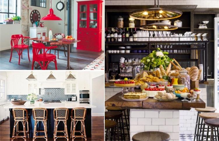 23 d corations de cuisine pour une petite ambiance bistrot des id es. Black Bedroom Furniture Sets. Home Design Ideas