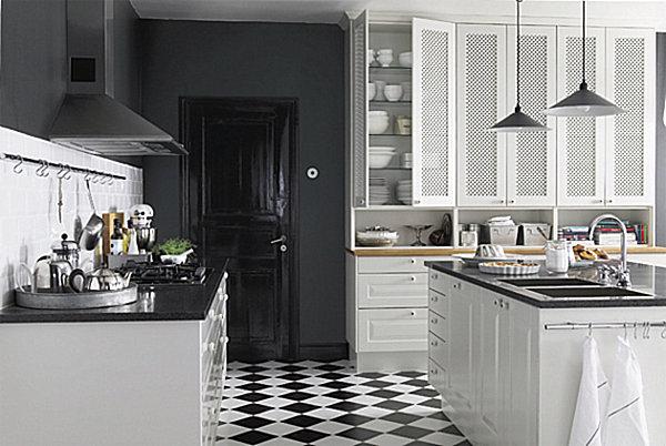 23 d corations de cuisine pour une petite ambiance bistrot page 2 sur 3 des id es. Black Bedroom Furniture Sets. Home Design Ideas