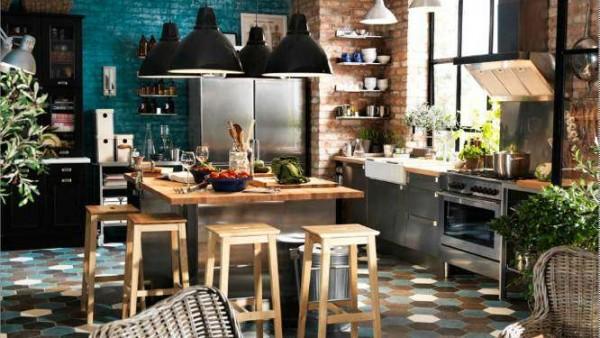 23 d corations de cuisine pour une petite ambiance bistrot des id es - Cuisine ambiance bistrot ...