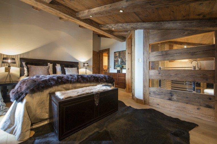 43 d cos de chambres pour un esprit chalet - Deco interieur chalet ...