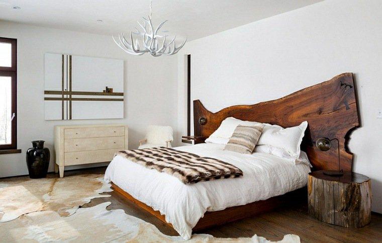 43 d cos de chambres pour un esprit chalet des id es - Deco chambre montagne ...