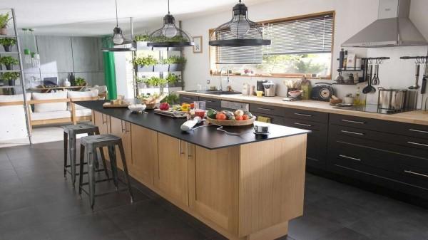 23 d corations de cuisine pour une petite ambiance bistrot page 3 sur 3 des id es. Black Bedroom Furniture Sets. Home Design Ideas