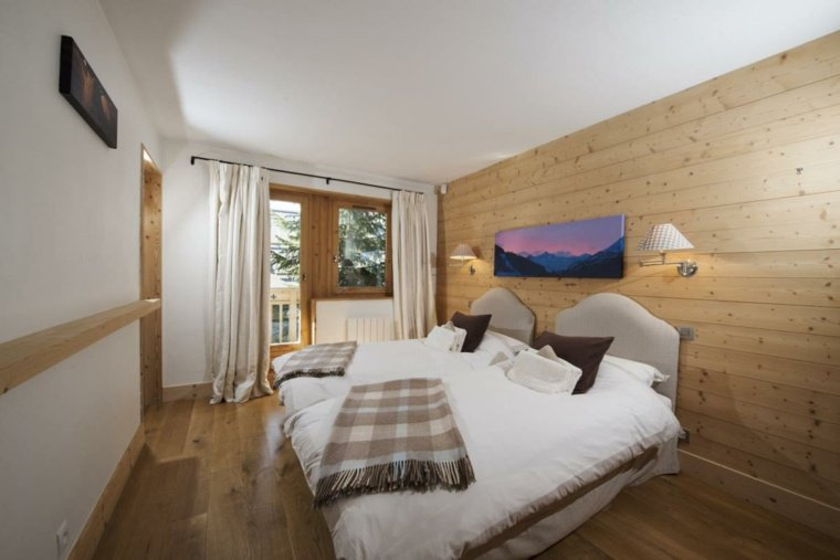 interieur-chalet-montagne-deco-chambre - Des idées