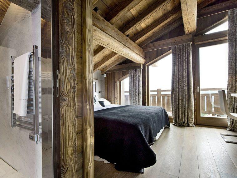 Deco chambre esprit chalet 091558 la meilleure conception d 39 inspiration pour - Chambre chalet ...