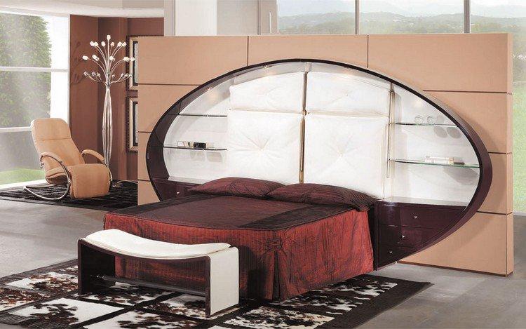 26 t tes de lit avec rangement int gr pour votre chambre - Tete de lit avec rangement integre ...