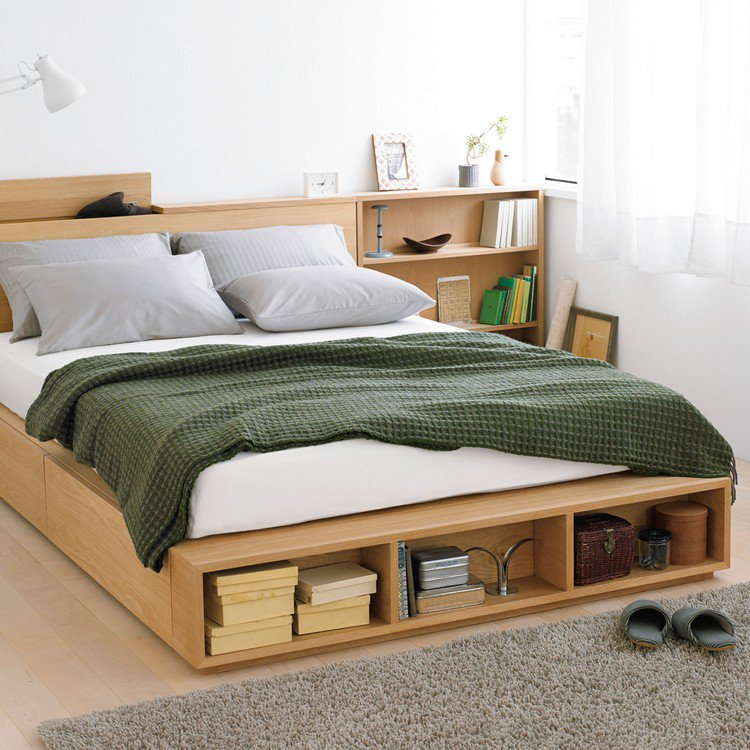 26 t tes de lit avec rangement int gr pour votre chambre des id es. Black Bedroom Furniture Sets. Home Design Ideas