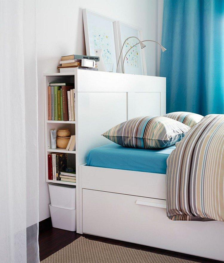 26 t tes de lit avec rangement int gr pour votre chambre page 2 sur 3 des id es. Black Bedroom Furniture Sets. Home Design Ideas