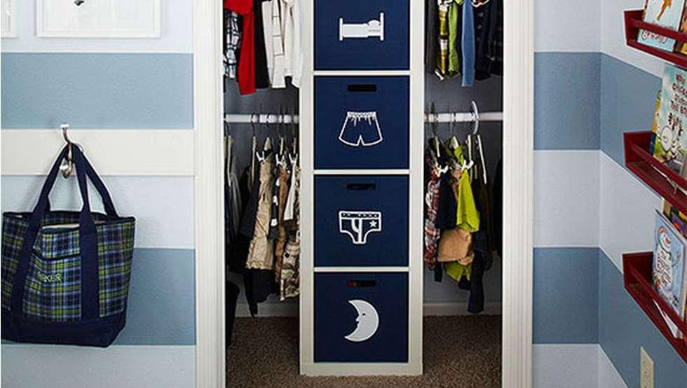 20 astuces de rangement pour votre dressing page 2 sur 4 des id es. Black Bedroom Furniture Sets. Home Design Ideas